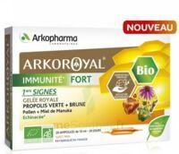 Arkoroyal Immunité Fort Solution Buvable 20 Ampoules/10ml à Le Mans