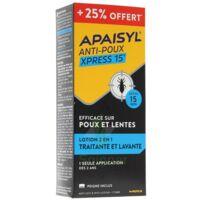 Apaisyl Anti-poux Xpress 15' 250ml _ 25% Offert à Le Mans