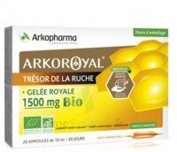 Arkoroyal Gelée Royale Bio 1500 Mg Solution Buvable 20 Ampoules/10ml à Le Mans