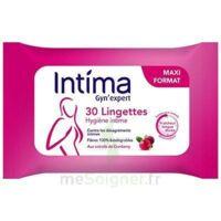 Intima Gyn'expert Lingettes Cranberry Paquet/30 à Le Mans
