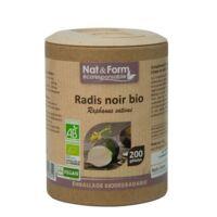 Nat&form Eco Responsable Radis Noir Bio Gélules B/200 à Le Mans