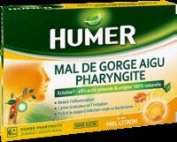 Humer Pharyngite Pastille Mal De Gorge Miel Citron B/20 à Le Mans